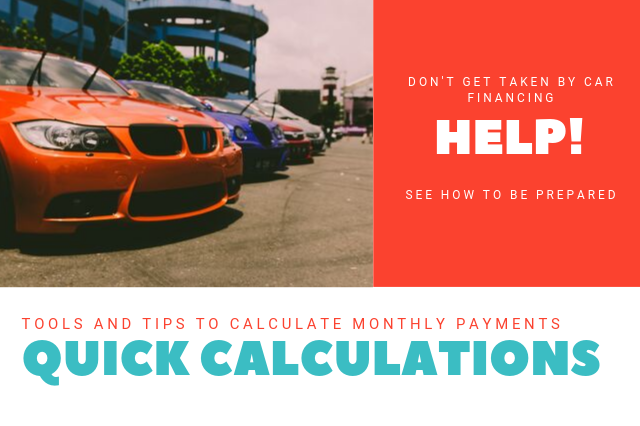 Quick Payment and Interest Calculations for Car Buying