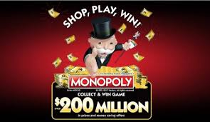 2017 Monopoly Albertsons, Vons, Safeway Winning Pieces