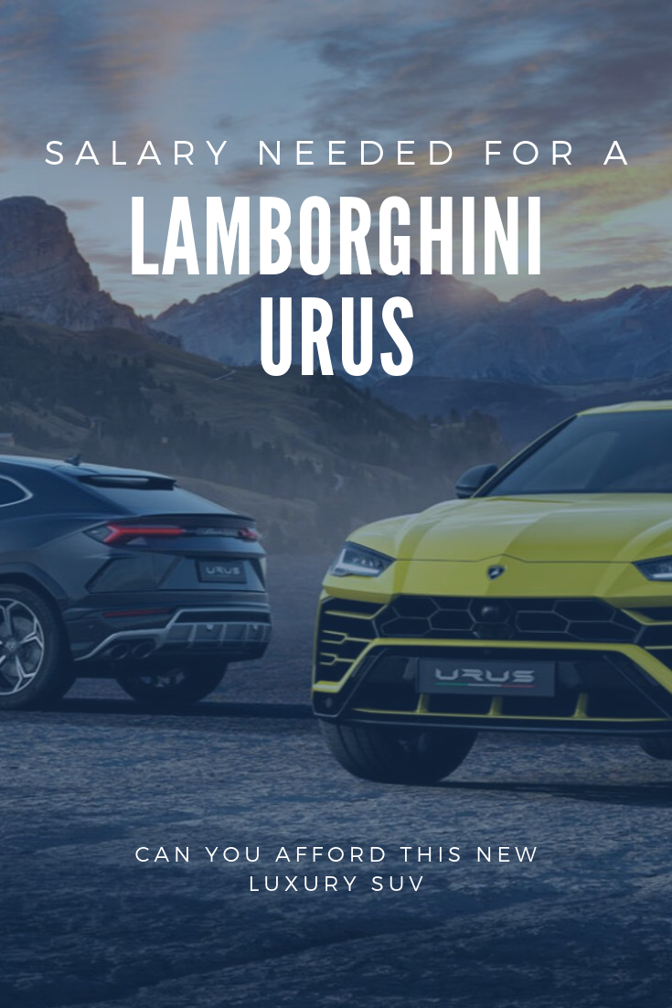 How Much Do You Need To Earn to Own a Lamborghini
