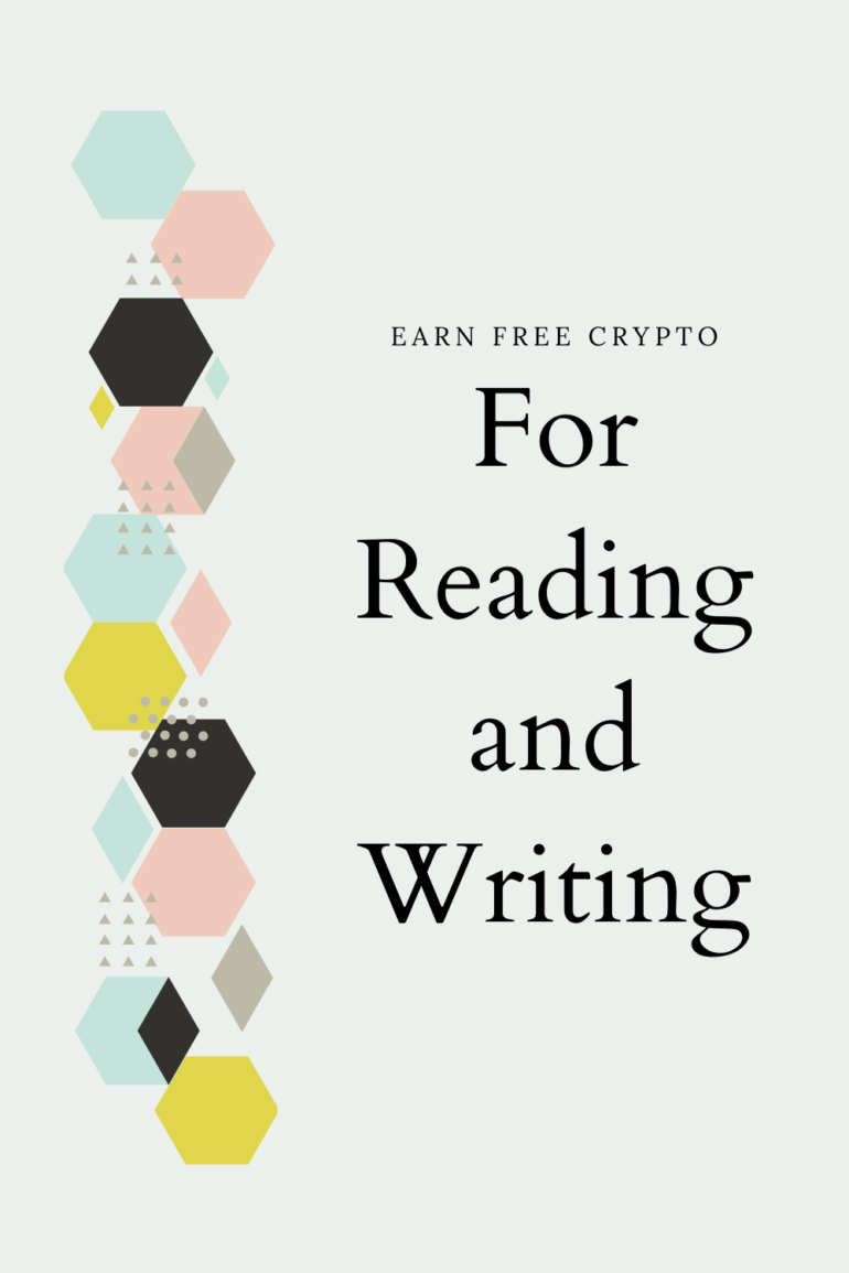 Free Crypto Series: Earn Crypto Coins by Simply Reading